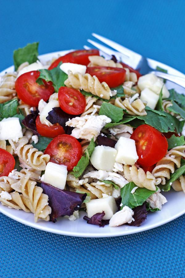 Chicken Garden Pasta Salad