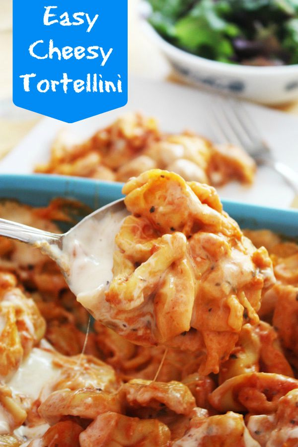 easy cheesy tortellini