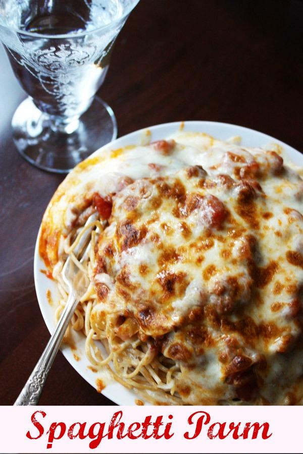 Spaghetti parm