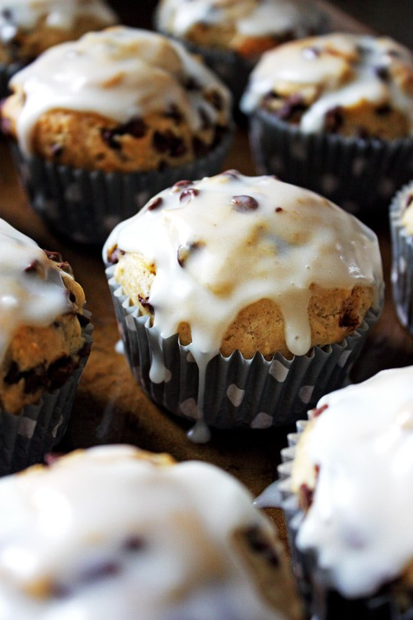 banana nut chocolate chip muffin