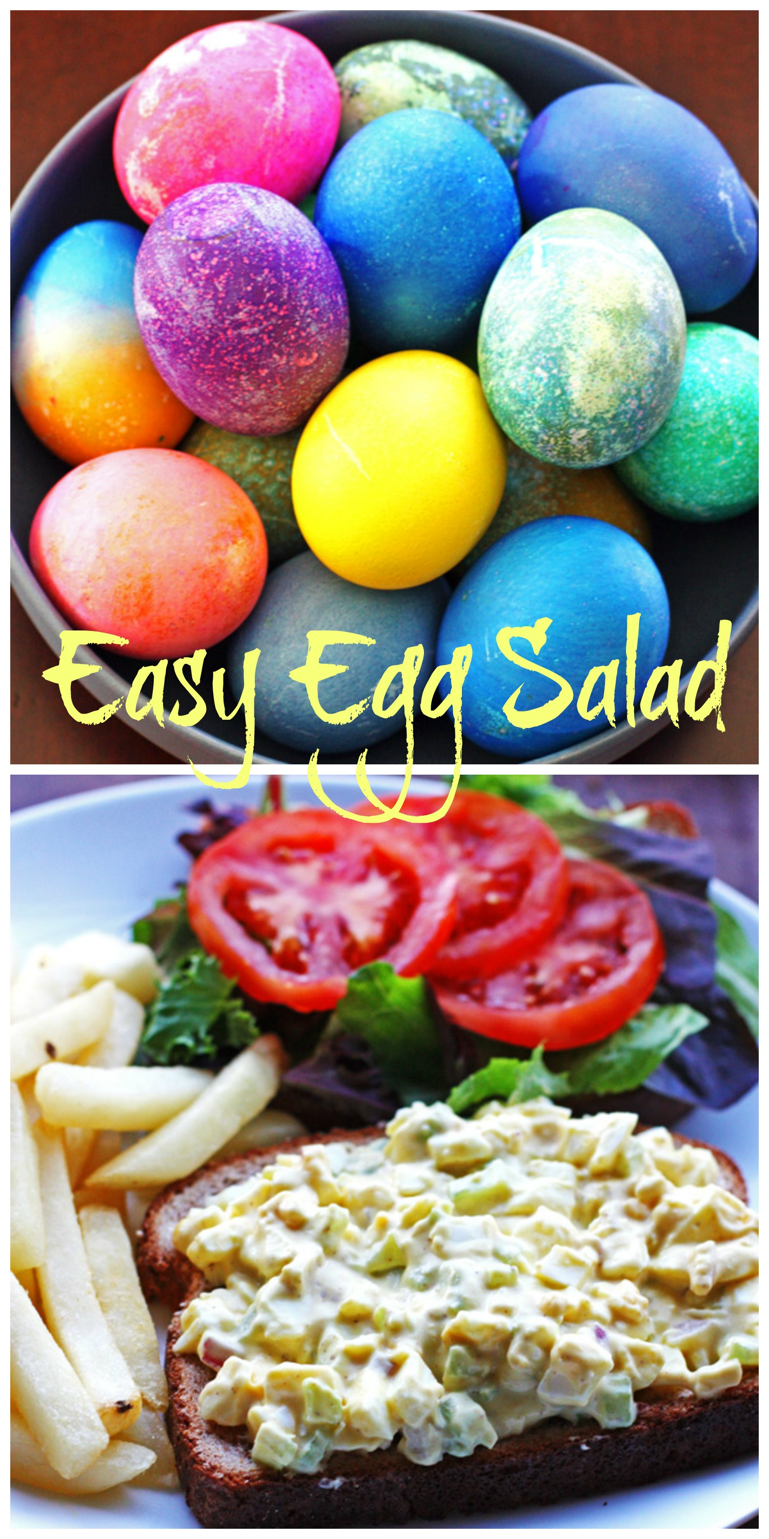 Easy Egg Salad pin