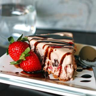 Chocolate Strawberry Ice Cream Pie