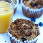 Blueberry Banana Jumbo Muffins