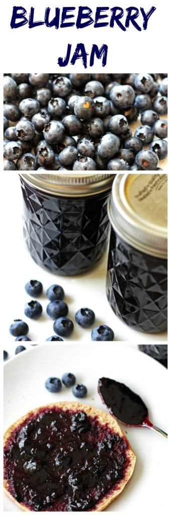 Blueberry Jam ~ Delicious homemade jam