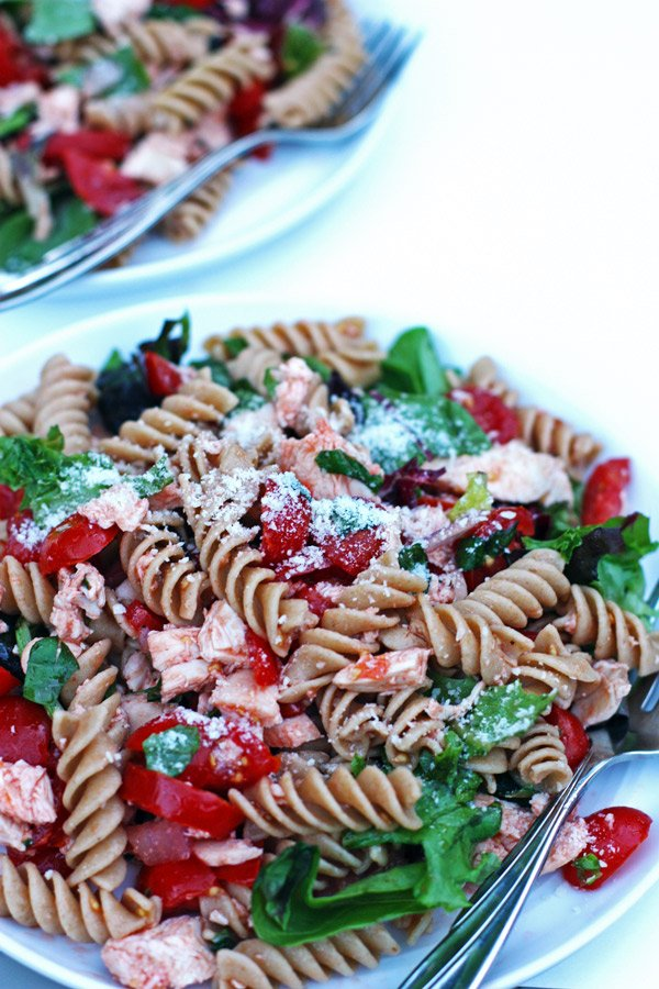 Tomato Basil Chicken Salad