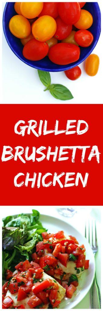 Grilled Brushetta Chicken