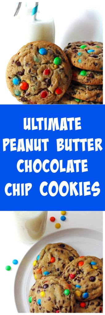 Ultimate Peanut Butter Chocolate Chip Cookies