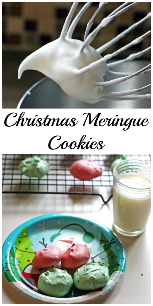 Christmas Meringue Cookies