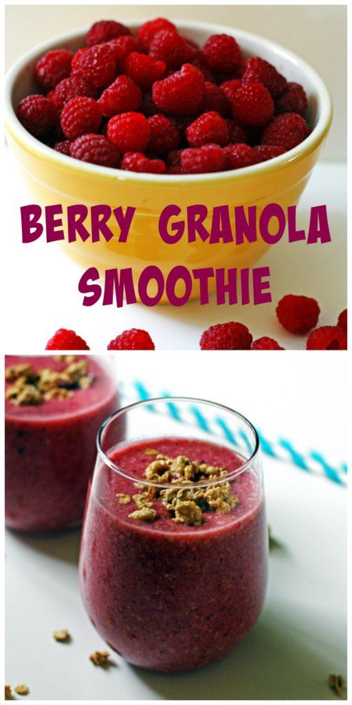 Berry Granola Smoothie