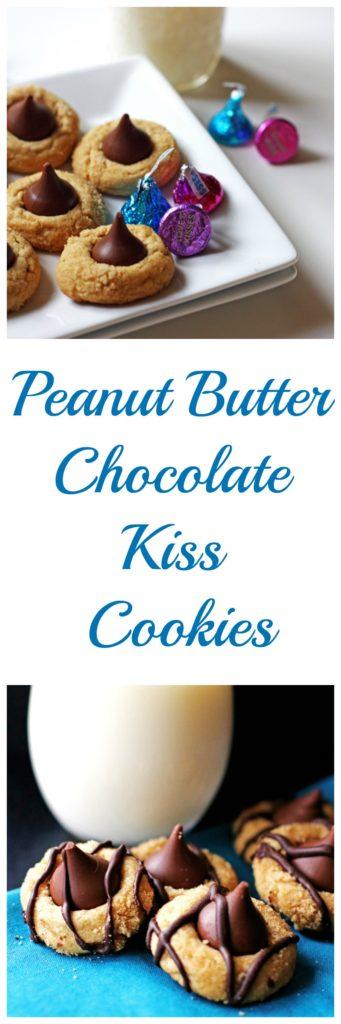 Peanut Butter Chocolate Kiss Cookies