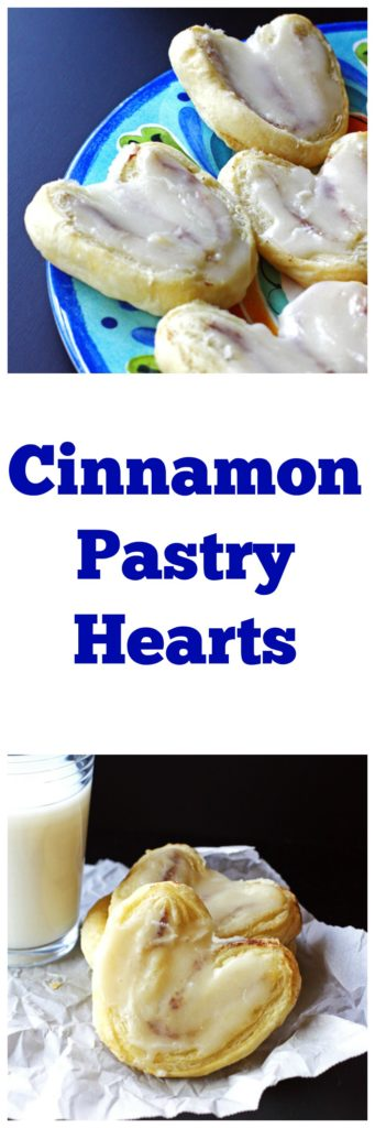 Cinnamon Pastry Hearts