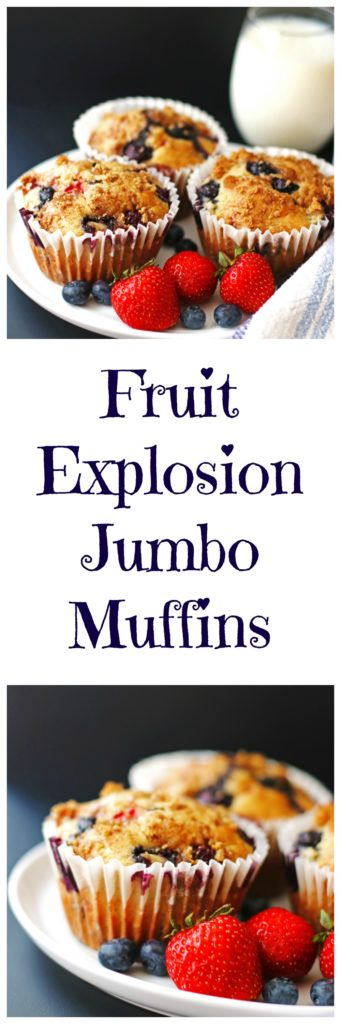 fruit, muffins, berries