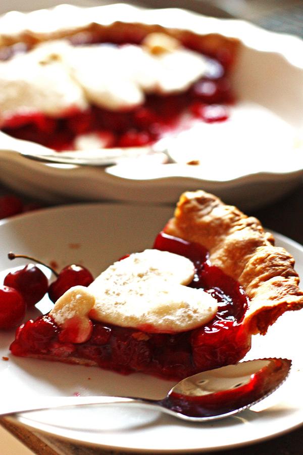 cherry, cherries, pie
