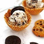 No Churn Cookie Monster Ice Cream