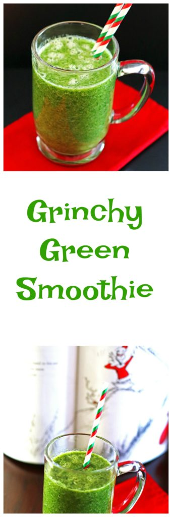 Grinchy Green Smoothie
