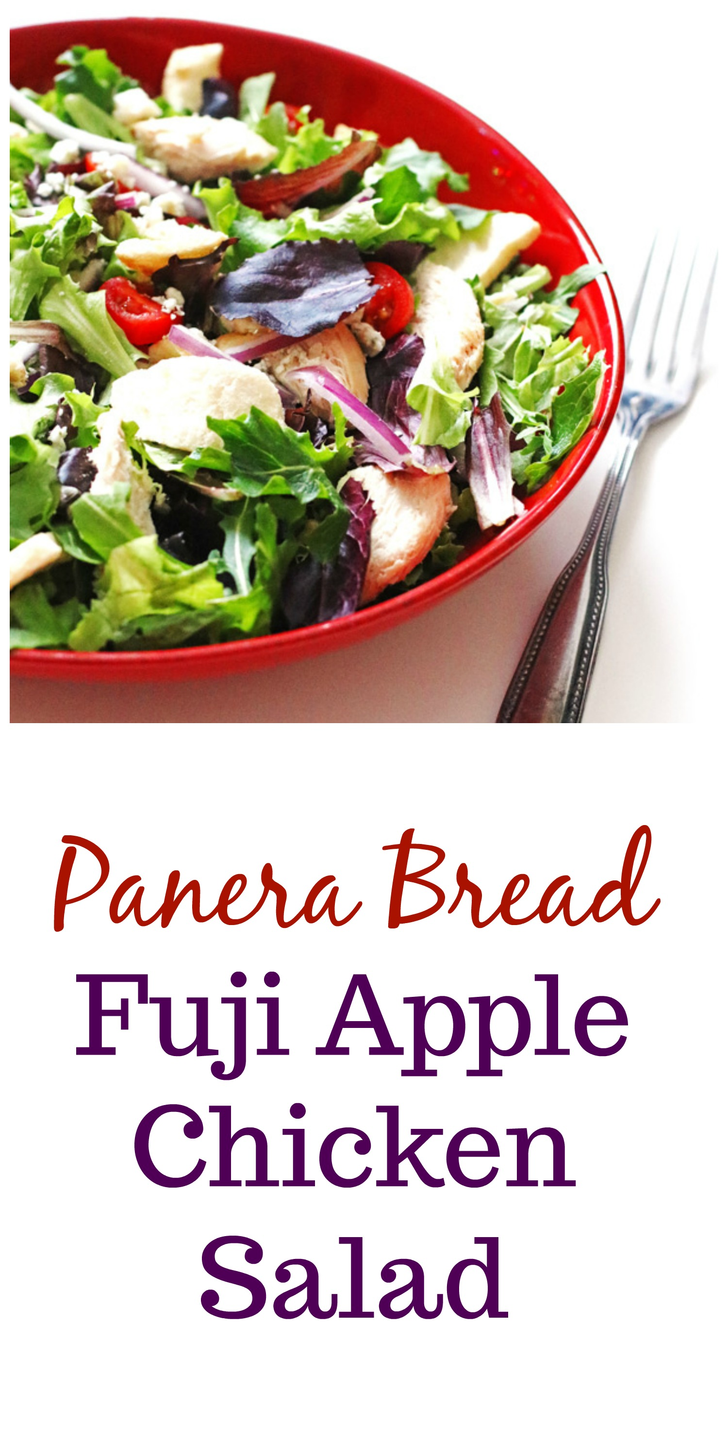 Fuji Apple Chicken Salad (Copycat Panera Bread