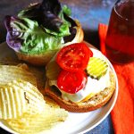 These Blue Cheese Burgers are so tasty and perfect for grilling season!