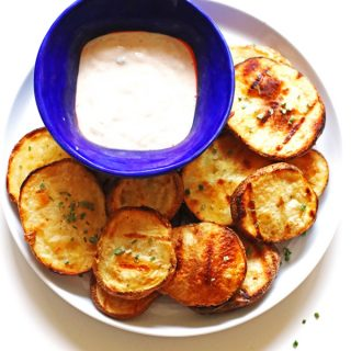These delicious Blue Cheese Grilled Potatoes make a fantastic side dish.